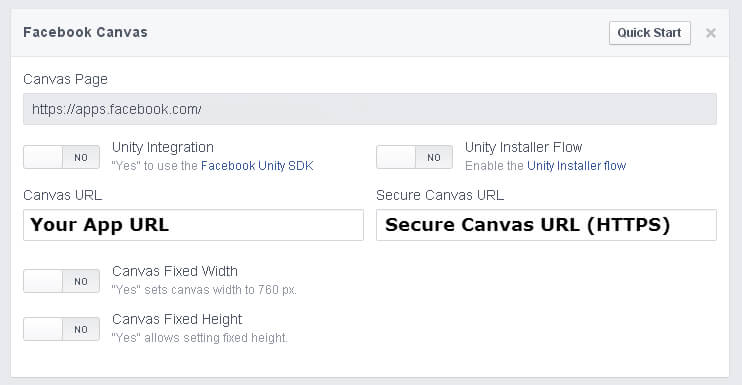 Secure Canvas URL
