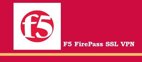 F5 Firepass SSL VPN