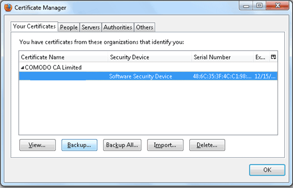 Code Signing Certificate Verification Firefox