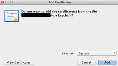 How to Install SSL Certificate on Mac OS X Server