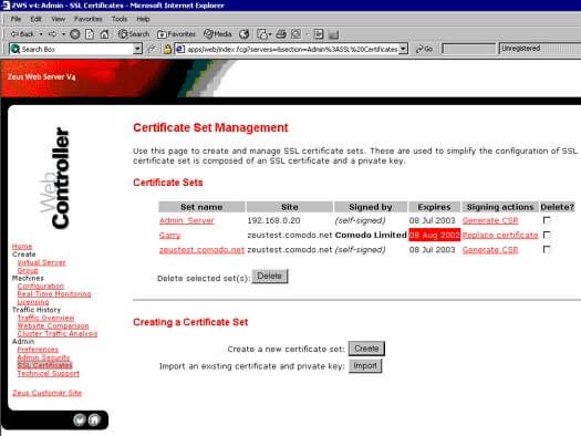 Generate-CSR-zeus-web-server