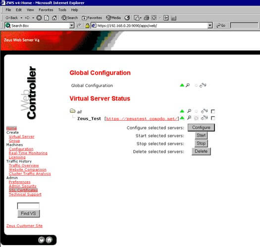select-ssl-certificate-zeus-web-server