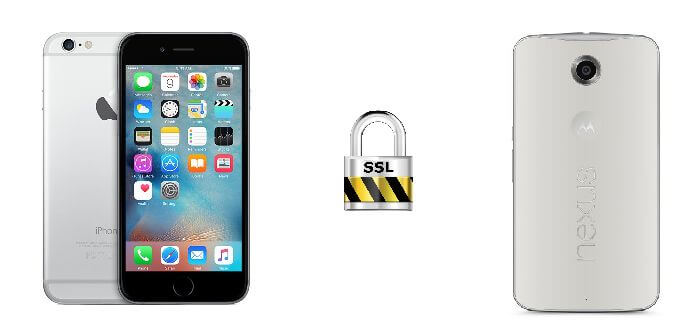 iphone android encryption