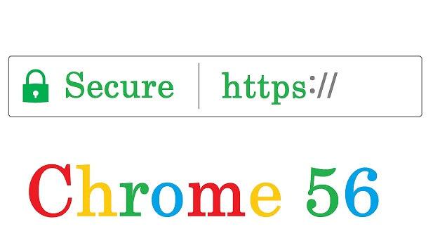 chrome 56 secure https