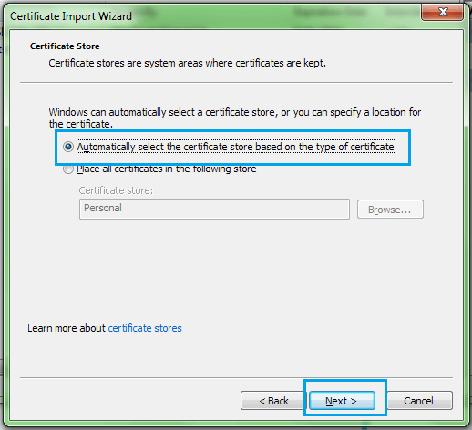 Guide On Import And Export .PFX SSL Certificate In IIS 8