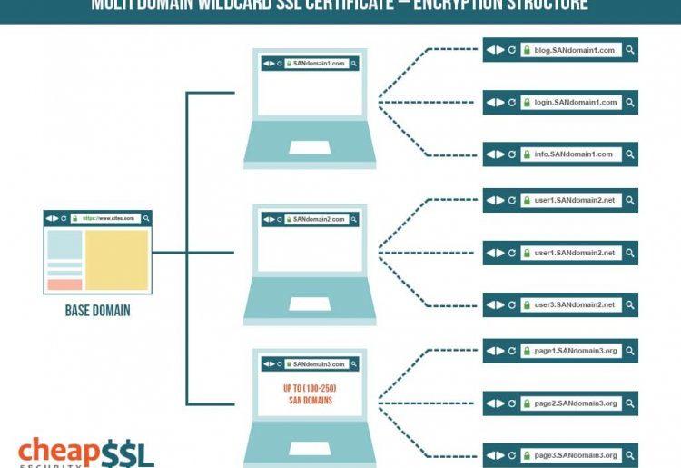multi domain wildcard ssl