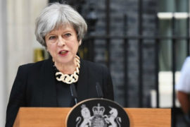 Theresa May has once again called for curbing Encryption