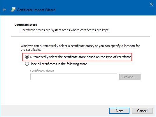 Move an SSL Certificate from an Apache Server to a Windows Server