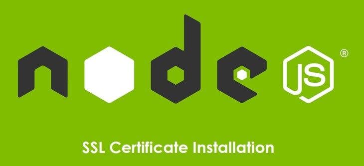 How To Install Ssl Certificate On Nodejs Cheapsslsecurity