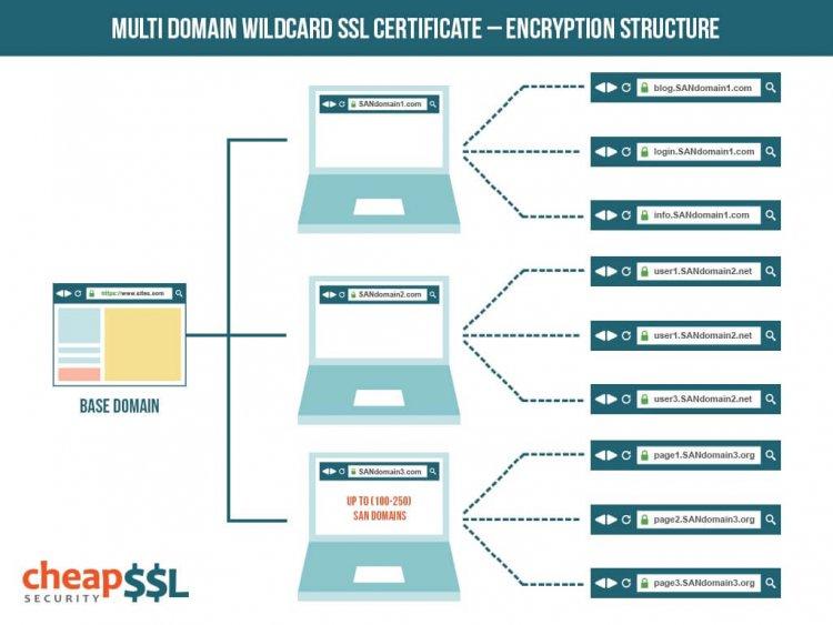 Multi-domain Wildcard SSL Explained