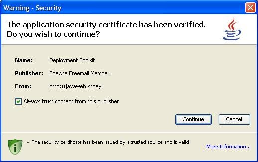 Code Signing After SSL Installation