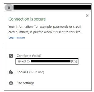 ev certificate information - figure 1