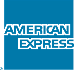 American Express logo graphic