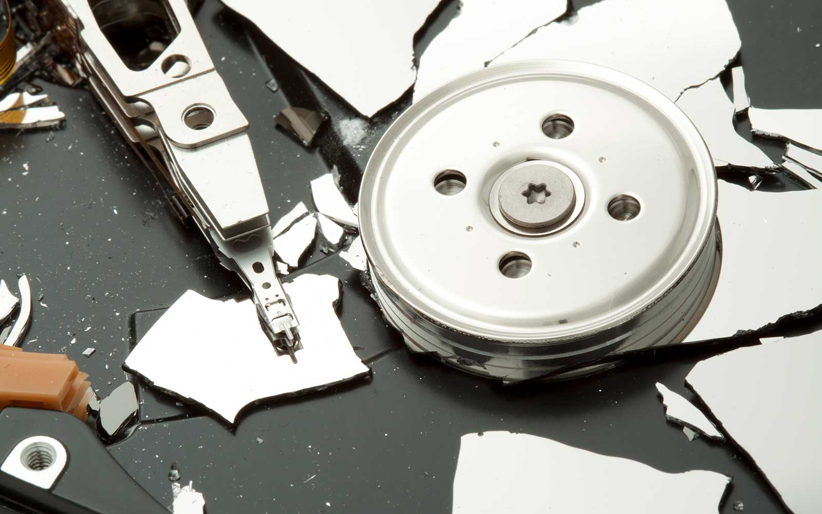 best way to destroy a hard drive