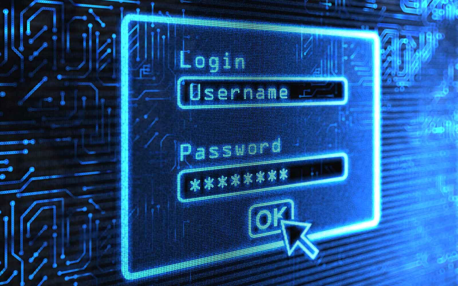 password security tips feature image of a login screen