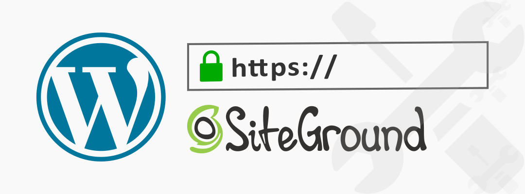 install ssl in wordpress hosted on siteground